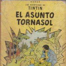 Cómics: TINTIN: EL ASUNTO TORNASOL. 2º EDICION AÑO 1965. EDITORIAL JUVENTUD. Lote 67025818