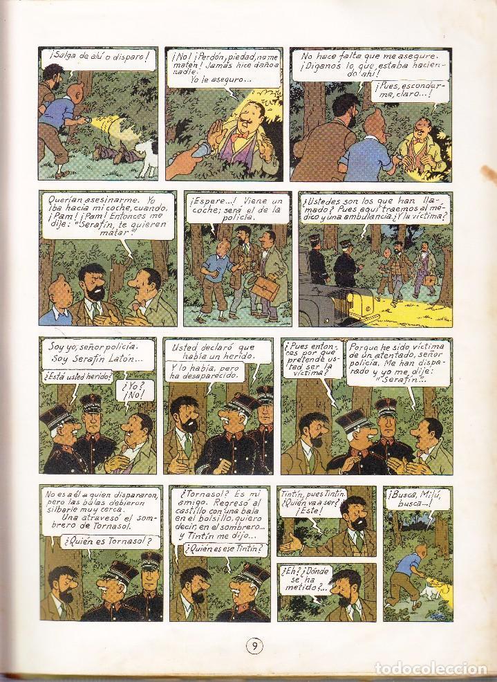 Cómics: TINTIN: EL ASUNTO TORNASOL. 2º EDICION AÑO 1965. Editorial JUVENTUD - Foto 2 - 67025818