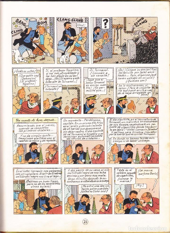 Cómics: TINTIN: EL ASUNTO TORNASOL. 2º EDICION AÑO 1965. Editorial JUVENTUD - Foto 3 - 67025818