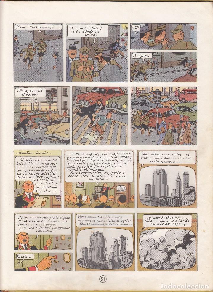 Cómics: TINTIN: EL ASUNTO TORNASOL. 2º EDICION AÑO 1965. Editorial JUVENTUD - Foto 4 - 67025818