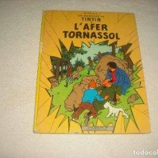 Cómics: LES AVENTURES DE TINTIN. L' AFER TORNASOL . CINQUENA EDICIO 1983 . EN CATALA. Lote 67106709