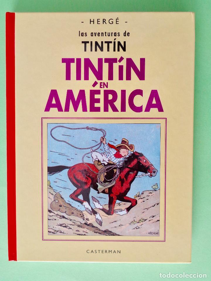 TINTIN EN AMÉRICA. AUTOR, HERGÉ. EDITORIAL CASTERMAN AÑO 2003. VER FOTOS (Tebeos y Comics - Juventud - Tintín)