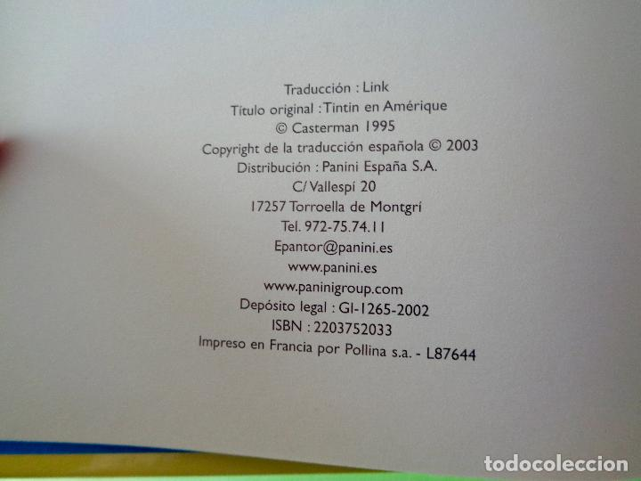 Cómics: TINTIN EN AMÉRICA. AUTOR, HERGÉ. EDITORIAL CASTERMAN AÑO 2003. VER FOTOS - Foto 2 - 67245465