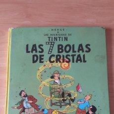 Cómics: COMIC - TEBEO - TINTIN.LAS 7 BOLAS DE CRISTAL. - TAPA DURA - 5ª EDICIÓN. EDITORIAL JUVENTUD 1978.. Lote 67666317