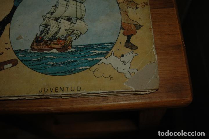Cómics: TINTIN. EL SECRETO DEL UNICORNIO. PRIMERA EDICION.1959 VER FOTOS - Foto 2 - 67826633