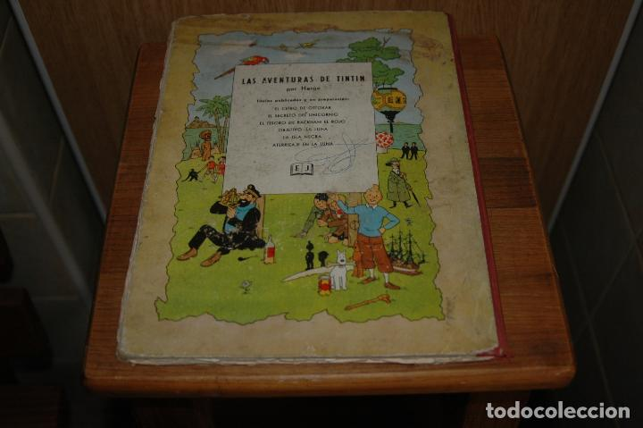 Cómics: TINTIN. EL SECRETO DEL UNICORNIO. PRIMERA EDICION.1959 VER FOTOS - Foto 3 - 67826633