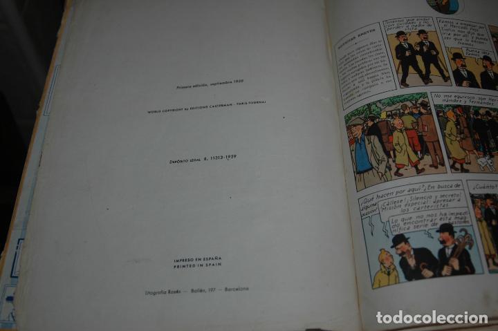 Cómics: TINTIN. EL SECRETO DEL UNICORNIO. PRIMERA EDICION.1959 VER FOTOS - Foto 5 - 67826633