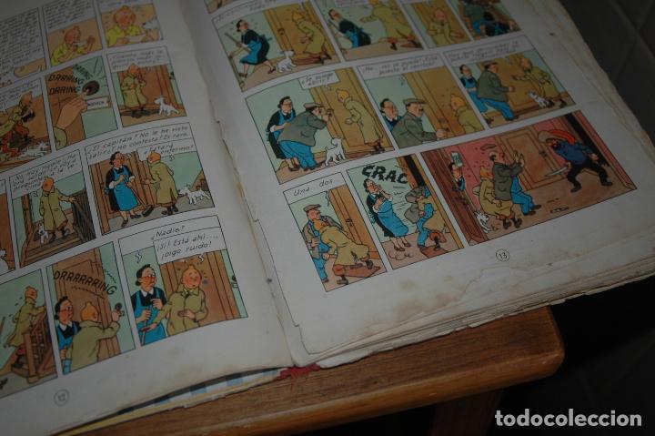 Cómics: TINTIN. EL SECRETO DEL UNICORNIO. PRIMERA EDICION.1959 VER FOTOS - Foto 6 - 67826633