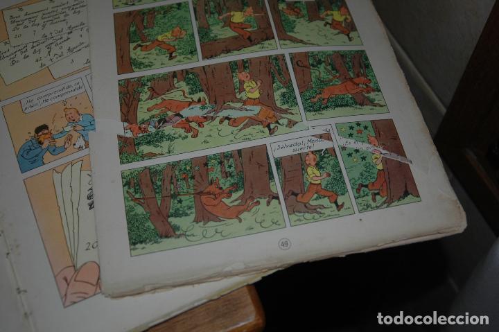 Cómics: TINTIN. EL SECRETO DEL UNICORNIO. PRIMERA EDICION.1959 VER FOTOS - Foto 7 - 67826633