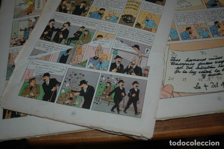 Cómics: TINTIN. EL SECRETO DEL UNICORNIO. PRIMERA EDICION.1959 VER FOTOS - Foto 8 - 67826633