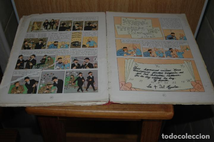 Cómics: TINTIN. EL SECRETO DEL UNICORNIO. PRIMERA EDICION.1959 VER FOTOS - Foto 9 - 67826633