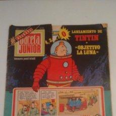 Fumetti: TINTIN GACETA JUNIOR Nº 19. UNISA 1969. ALBERT WEINBERG, ALDO DI GENNARO, TIBET, MITTEI, BATTAGLIA. Lote 67875237
