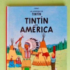 Cómics: TINTÍN EN AMÉRICA. AUTOR, HERGE. EDITA CASTERMAN/PANINI. REGALO DE TINTÍN EN EL CONGO. VER FOTOS. Lote 67915489