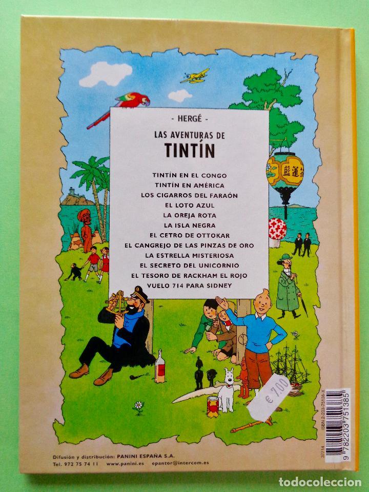 Cómics: TINTÍN, EL TESORO DE RACKHAM EL ROJO. AUTOR, HERGÉ. EDITA CASTERMAN AÑO 2001. VER FOTOS - Foto 4 - 67918593