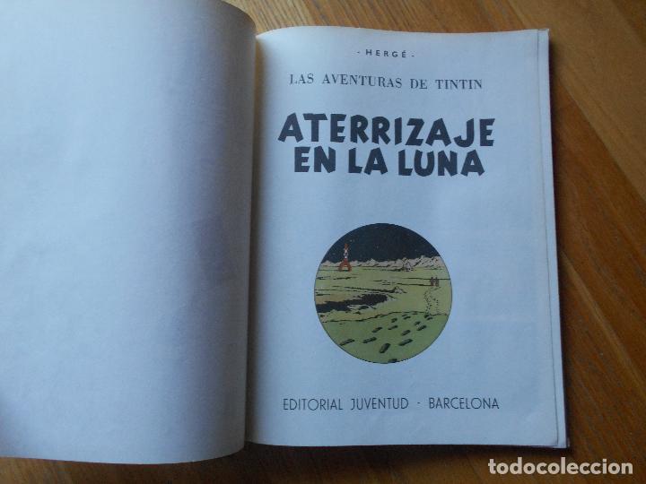 Cómics: ATERRIZAJE EN LA LUNA, Las Aventuras de Tintin, HERGE, 1979 - Foto 2 - 67941353