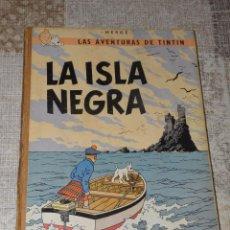 Cómics: UVENTUD TINTIN LA ISLA NEGRA TERCERA EDICIÓN MARZO 1969. Lote 68256305