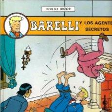 Comics : BOB DE MOOR - BARELLI Nº 5 - BARELLI Y LOS AGENTES SECRETOS - ED. JUVENTUD 1992 1ª EDICION - BIEN. Lote 68402001