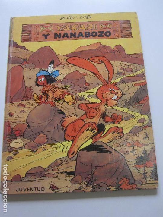 YAKARI Nº 4 - YAKARI Y NANABOZO - DERIB & JOB JUVENTUD E6 (Tebeos y Comics - Juventud - Yakary)
