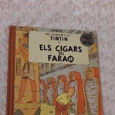 Cómics: LES AVENTURES DE TINTIN - ELS CIGARS DEL FARAO -CATALA. Lote 68938065