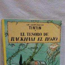 Cómics: TINTIN,EL TESORO DE RACKHAM EL ROJO,2003. Lote 69011961