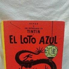 Cómics: TINTIN,EL LOTO AZUL,1986. Lote 69012241