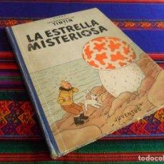 Cómics: TINTIN LA ESTRELLA MISTERIOSA 1ª PRIMERA EDICIÓN JUVENTUD 1960. REGALO LAS 7 BOLAS CRISTAL 1ª ED!!!!. Lote 69587337