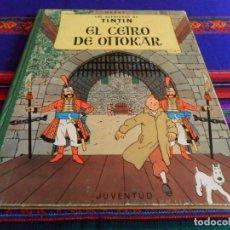 Cómics: TINTIN EL CETRO DE OTTOKAR 2ª SEGUNDA EDICIÓN. JUVENTUD 1964. BUEN ESTADO.. Lote 69589577