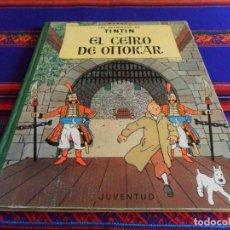 Cómics: TINTIN EL CETRO DE OTTOKAR 2ª SEGUNDA EDICIÓN. JUVENTUD 1964. MUY BUEN ESTADO.. Lote 69589721