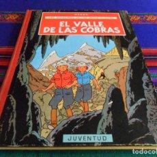 Cómics: JO, ZETTE, JOCKO. EL VALLE DE LAS COBRAS 1ª PRIMERA EDICIÓN. JUVENTUD AÑOS 70. MUY BUEN ESTADO. RARO. Lote 69595673