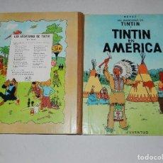 Cómics: (M) LAS AVENTURAS DE TINTIN - TINTIN EN AMERICA , EDT JUVENTUD, 2 EDICION 1969, BUEN ESTADO. Lote 69625897