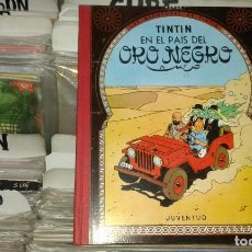Cómics: TINTIN EN EL PAIS DEL ORO NEGRO,HERGE,JUVENTUD,2 EDICION 1965. Lote 69695729