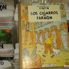 Cómics: LAS AVENTURAS DE TINTIN,LOS CIGARROS DEL FARAON,HERGE,JUVENTUD,2 EDICION 1965. Lote 69696365