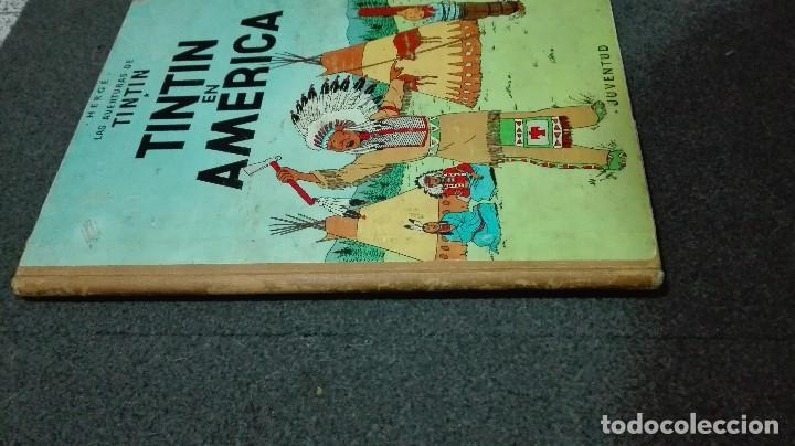 TINTIN EN AMERICA 2 EDICION 1969 (Tebeos y Comics - Juventud - Tintín)