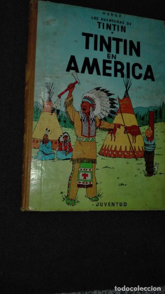 Cómics: Tintin en america 2 edicion 1969 - Foto 2 - 69786761