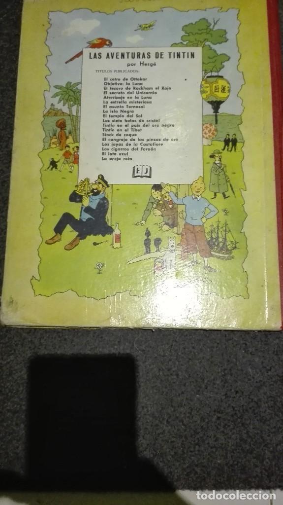 Cómics: Comic de tintin 2 edicion 1965 las estrellas misteriosas completo - Foto 7 - 69798221