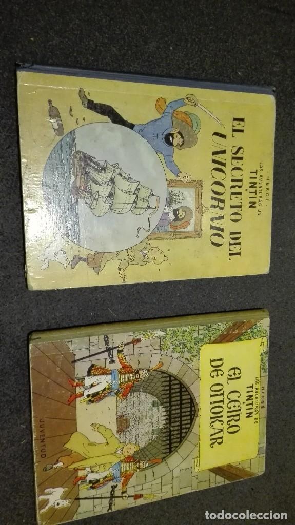2 CÓMICS DE TINTIN 4 EDICIÓN 1968 (Tebeos y Comics - Juventud - Tintín)