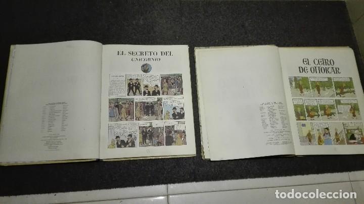 Cómics: 2 cómics de tintin 4 edición 1968 - Foto 7 - 69800465