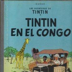 Cómics: TINTIN EN EL CONGO, 1968, PRIMERA EDICIÓN, BUEN ESTADO. Lote 69867821