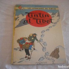 Cómics: LES AVENTURES DE TINTIN. TINTIN AL TIBET . QUARTA EDICIO 1980 . EN CATALA. Lote 70282741