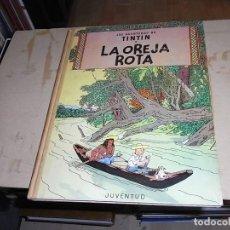 Cómics: TINTIN, LA OREJA ROTA, JUVENTUD, 1966. Lote 70414293