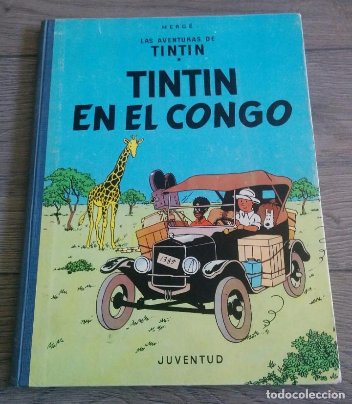 COMICS TINTIN 1 ED.. (Tebeos y Comics - Juventud - Tintín)