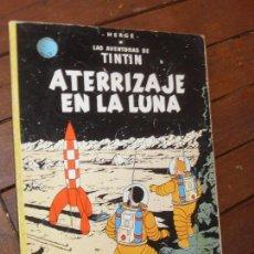 Cómics: TINTIN. ATERRIZAJE EN LA LUNA. 7º EDICION- EDITORIAL JUVENTUD. HERGÉ. 1979. TAPA BLANDA-RUSTICA. Lote 72451407