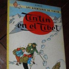 Cómics: TINTIN. TINTIN EN EL TIBET. 6º EDICION- EDITORIAL JUVENTUD. HERGÉ. 1979. TAPA BLANDA-RUSTICA. Lote 72452063