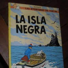 Cómics: TINTIN- LA ISLA NEGRA .6º EDICION- EDITORIAL JUVENTUD. HERGÉ. 1979. TAPA BLANDA-RUSTICA. Lote 72452919