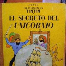 Cómics: TINTIN EL SECRETO DEL UNICORNIO 4ª EDICION 1968. Lote 117135502