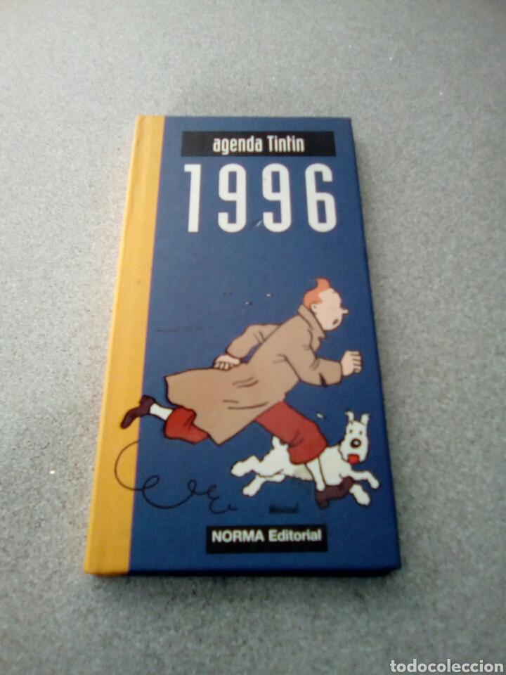 AGENDA TINTIN 1996 NORMA EDITORIAL - SIN ESCRIBIR (Tebeos y Comics - Juventud - Tintín)