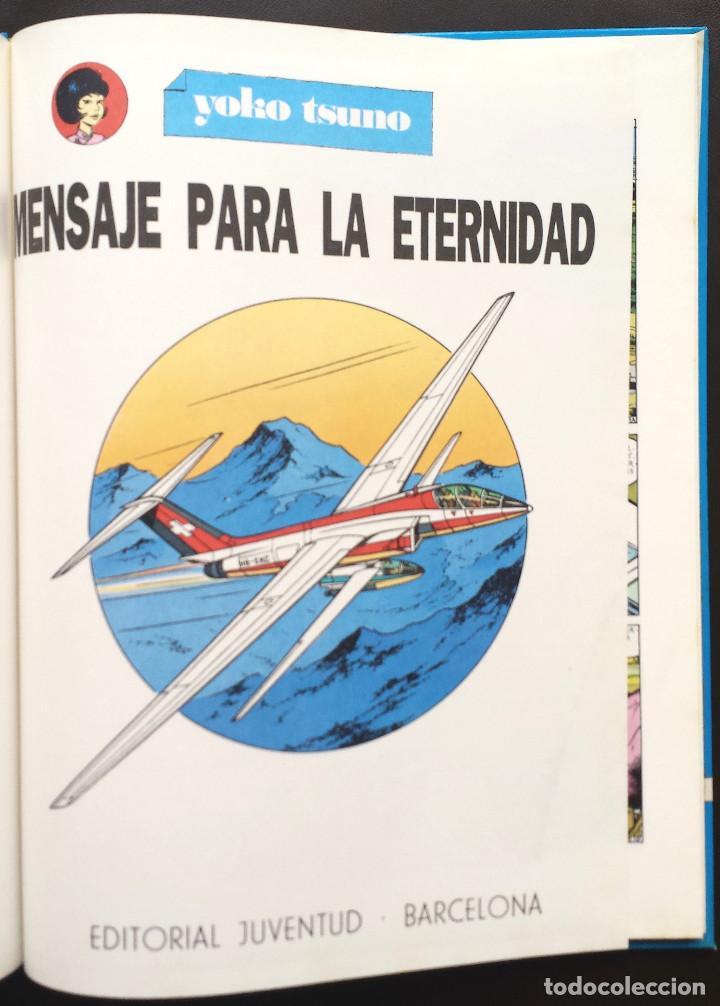 Cómics: MENSAJE PARA LA ETERNIDAD - Yoko Tsuno - Roger Leloup Nº 5 Ed Juventud 1ª Primera Edición Tapa Dura - Foto 2 - 73475647
