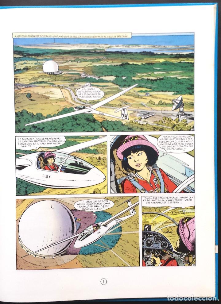 Cómics: MENSAJE PARA LA ETERNIDAD - Yoko Tsuno - Roger Leloup Nº 5 Ed Juventud 1ª Primera Edición Tapa Dura - Foto 4 - 73475647