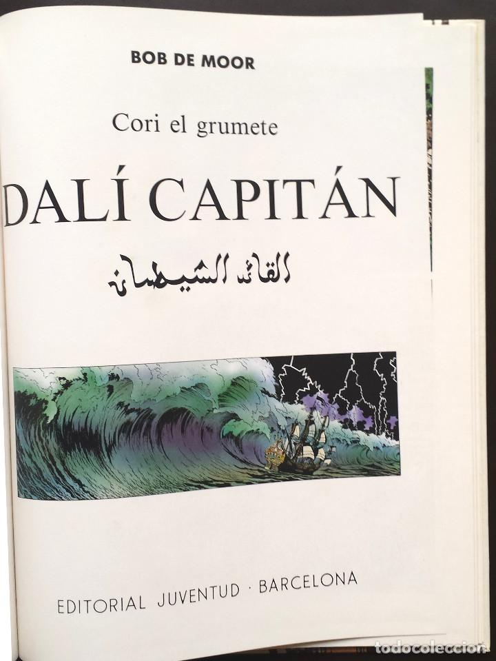 Cómics: CORI EL GRUMETE - DALÍ CAPITÁN - Bob de Moor Ed JUVENTUD 1ª Primera Edición Tapa Dura - Foto 2 - 73475835