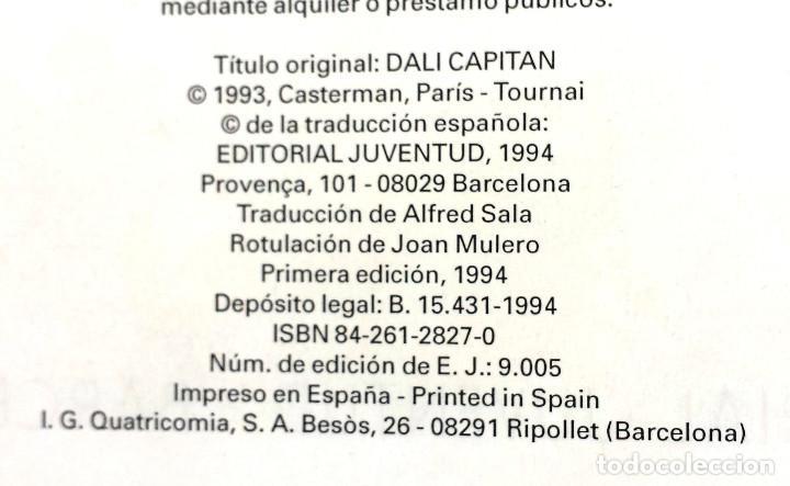 Cómics: CORI EL GRUMETE - DALÍ CAPITÁN - Bob de Moor Ed JUVENTUD 1ª Primera Edición Tapa Dura - Foto 3 - 73475835